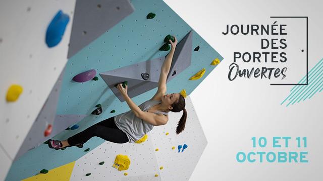 Journées Portes Ouvertes à Climb Up Caen