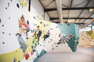 Espace blocs à Climb Up Angers - Les Ponts de Cé