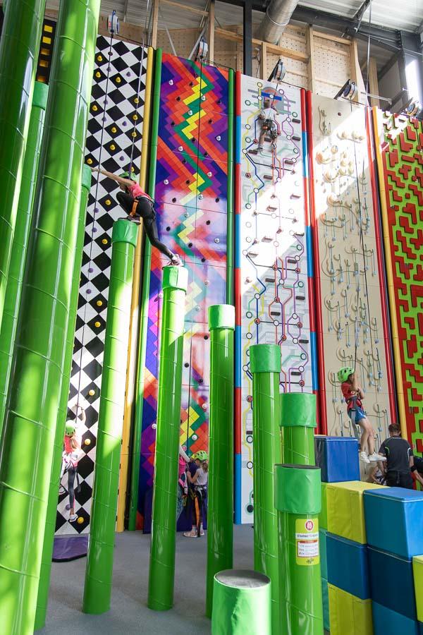 Fun Climbing escalade ludique dès 4 ans à Climb Up Angers - Les Ponts de Cé